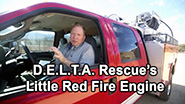 Fire protection of the animal residents at Delta Rescue