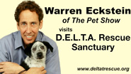 Warren Ecksten Visits Delta Rescue