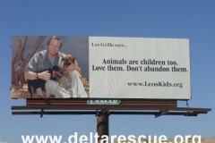 These billboards have helped prevent abandonment in the desert.