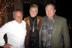 Wolfgang Puck, Victoria Burrows, and me a few pounds heavier!