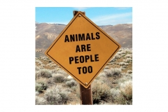 Animals Are People Too - GET IT?